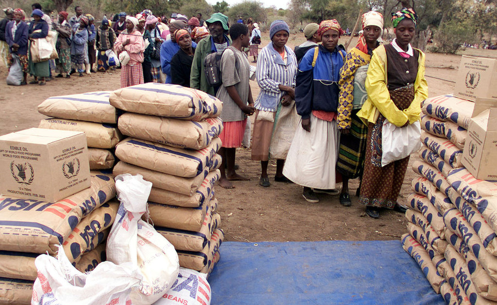 Image for Food aid does more harm than good