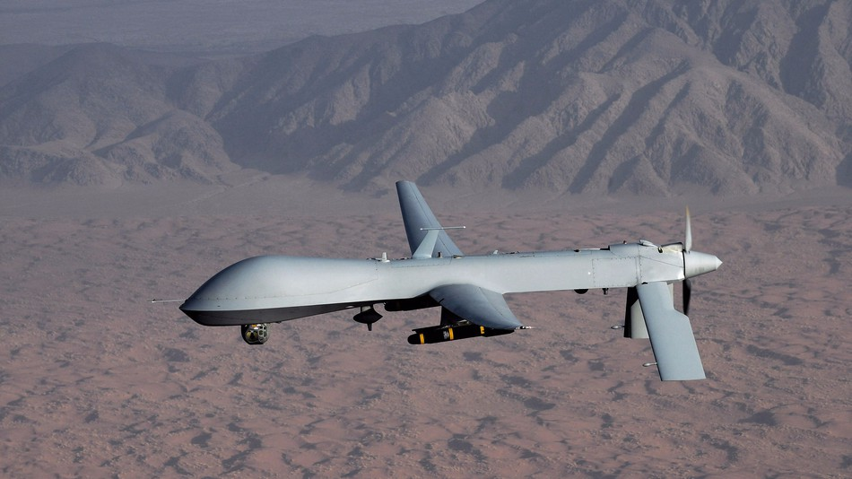 Image for Drone warfare does more harm than good