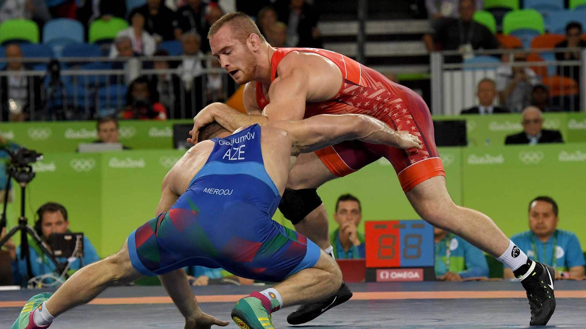 Image for Wrestling should not be an Olympic sport