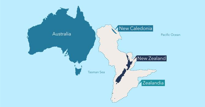 Image for Zealandia should be designated as a continent
